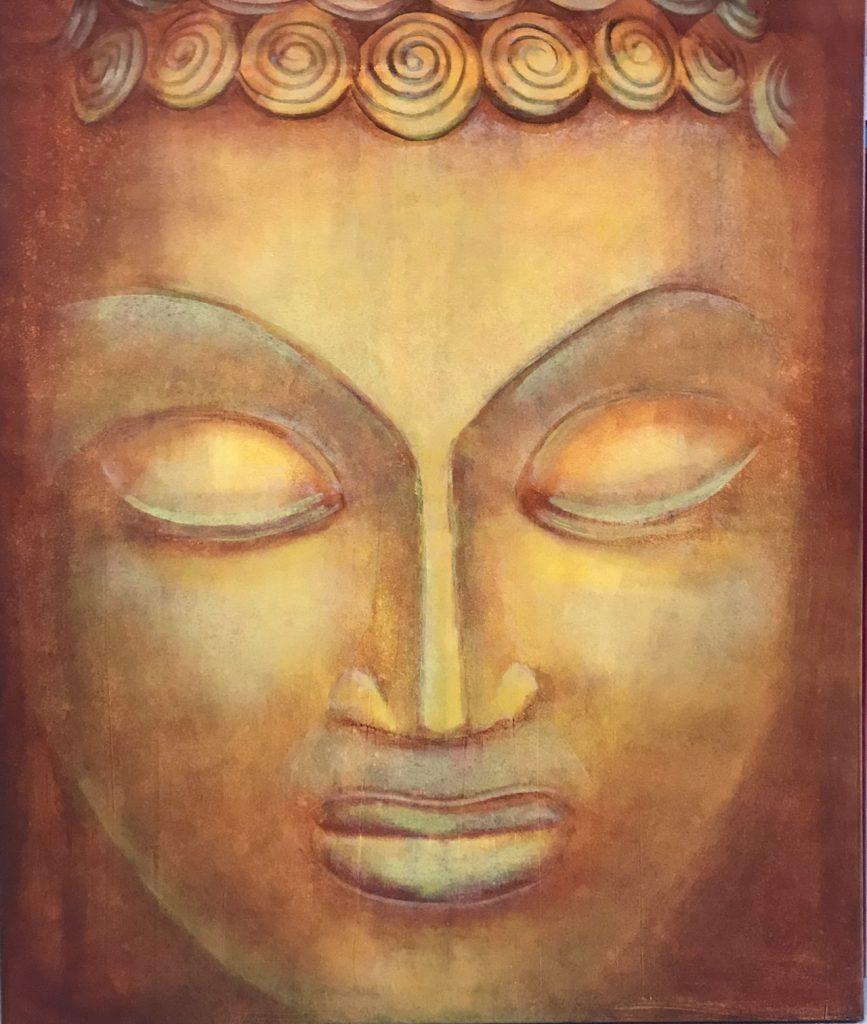 Inge Panter Gemälde Budda